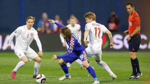 Croacia destroza a una Noruega que depende mucho de Odegaard