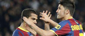 Foto: Vilanova señala a Villa y Alves y genera un problema al club