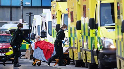 Nuevo récord en Reino Unido: 1.325 muertes y 68.053 contagios
