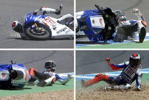 """Lorenzo: """"Todo empieza de nuevo tras la caída en Jerez"""""""