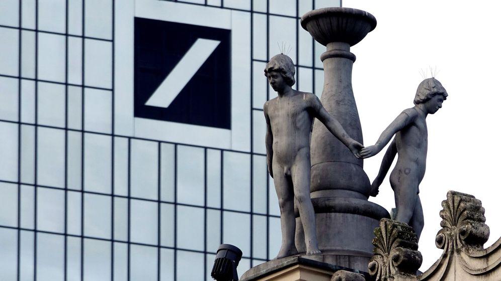 Foto: El logo de Deutsche Bnak en Fráncfort (Alemania). (EFE)
