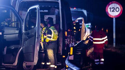Muere un guardia civil atropellado en un control de movilidad en Mieres (Asturias)