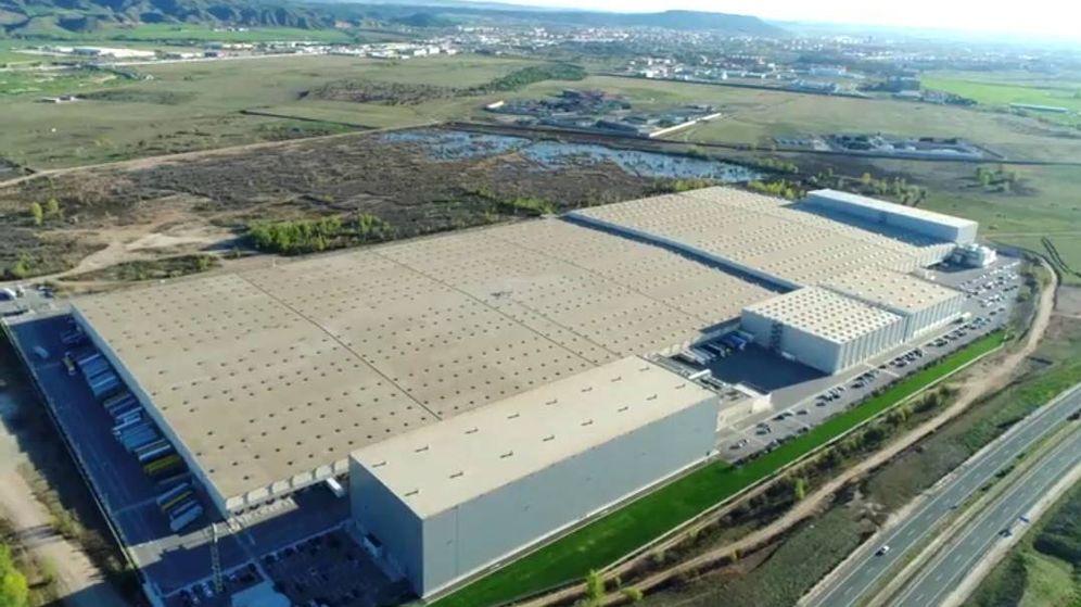 Foto: Una de las zonas industriales de Meco.
