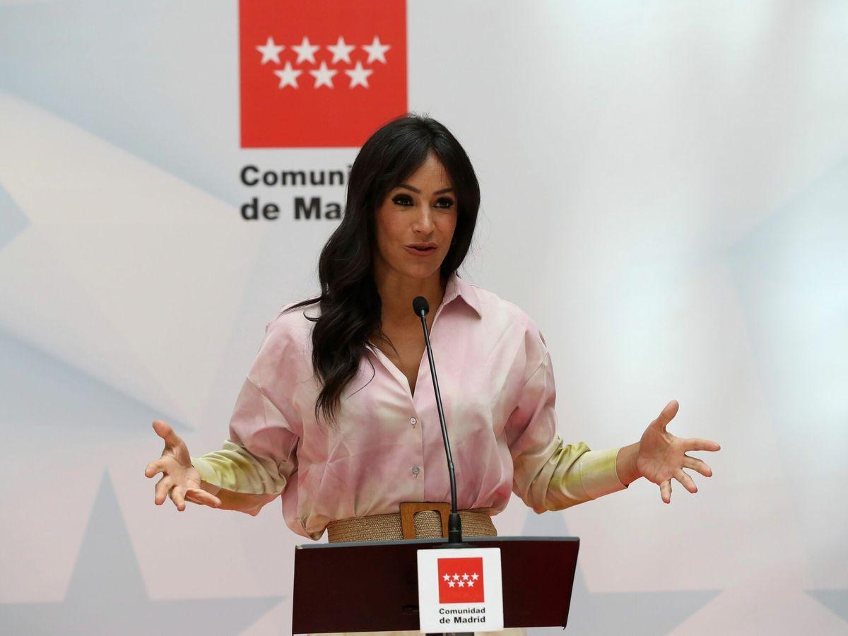 Foto: La coordinadora regional de Cs en Madrid, Begoña Villacís. (EFE)