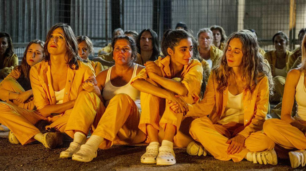 Foto: Varias actrices de 'Vis a vis', en su final. (Fox España)