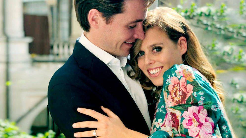 Foto: Beatriz de York y su prometido. (Instagram)