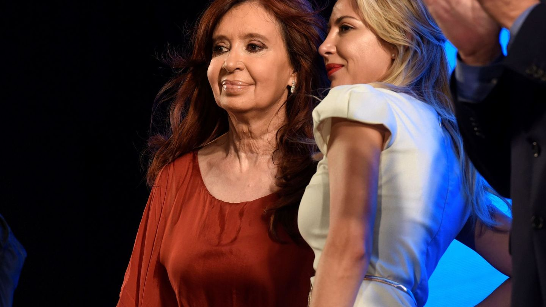 Cristina Kirchner y Fabiola Yáñez. (EFE)