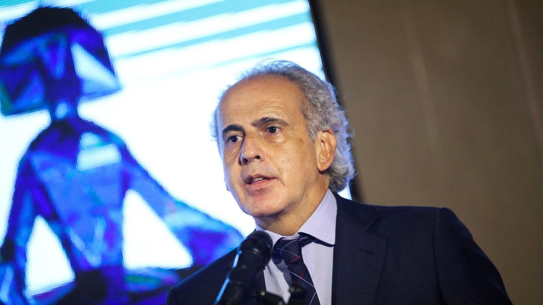 El consejero de Sanidad de la Comunidad de Madrid, Enrique Ruiz Escudero. (EFE)