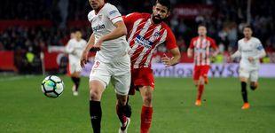 Post de Lenglet, el 'Impasible', madura en el Sevilla y Madrid y Barça se fijan en él
