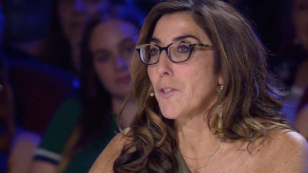 Foto: Paz Padilla, en 'Got Talent0. (Telecinco)