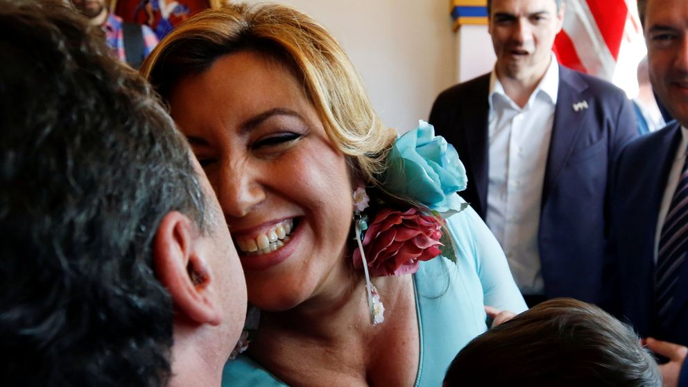 Pedro Sánchez obliga a Susana Díaz a escenificar una tregua en la Feria