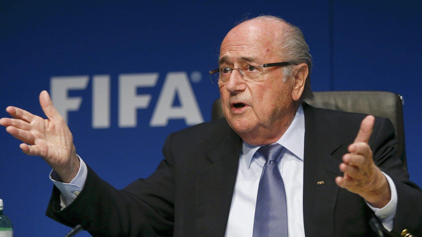 Foto: Joseph Blatter, presidente de FIFA, asegura no tener conocimiento de la trama de corrupción de su organismo.