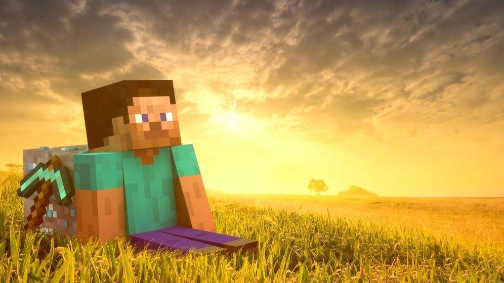 Foto: Una muestra del videojuego Minecraft