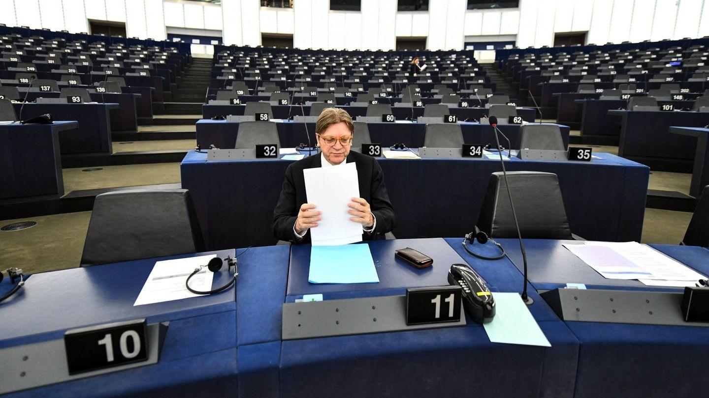 El presidente de los liberales (ALDE), el belga Guy Verhofstadt (EFE)