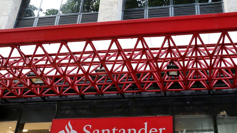 Foto: Logo de Banco Santander. (Reuters)