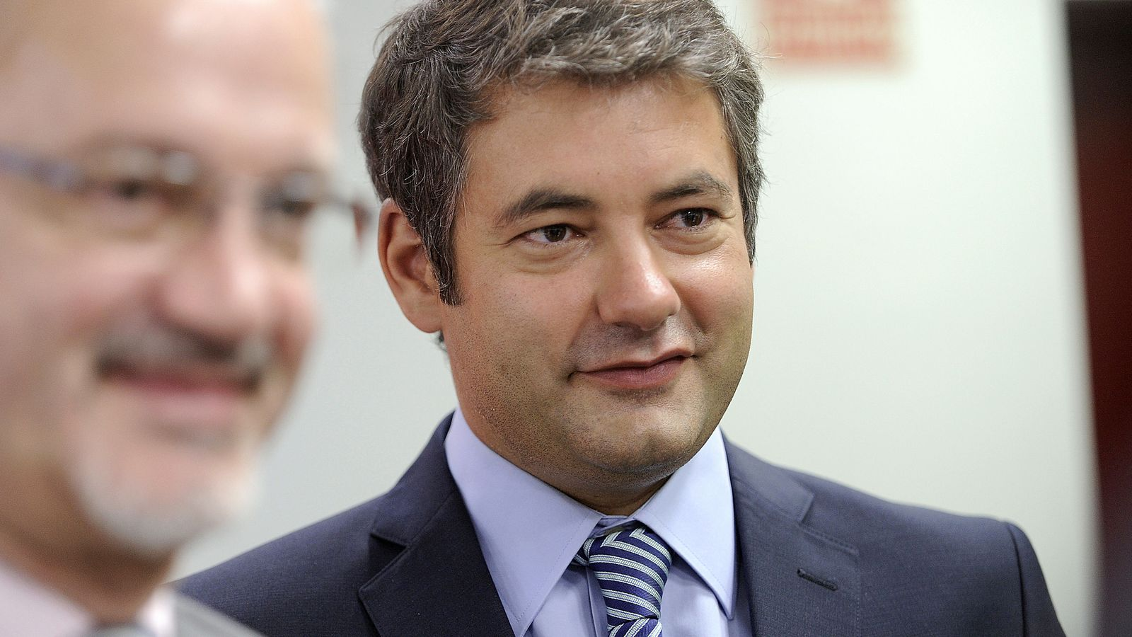 Foto: Julio Somoano, uno de los rostros más conocidos de TVE.