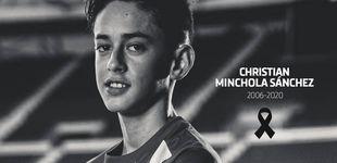Post de Fallece una de las mayores promesas de la cantera del Atlético de Madrid a los 14 años