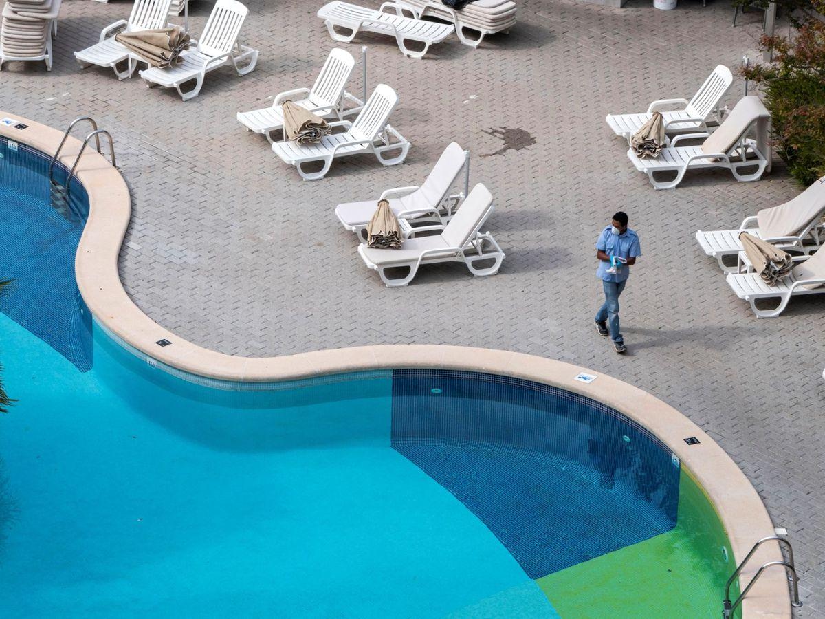 Foto: El coronavirus ha golpeado con fuerza el sector hotelero.