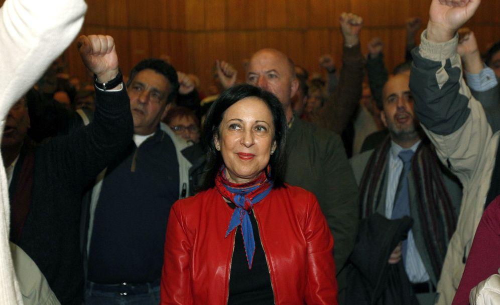 Foto: Margarita Robles, el pasado 12 de diciembre, en la presentación de la plataforma Primarias y Congreso YA, en Madrid. (EFE)