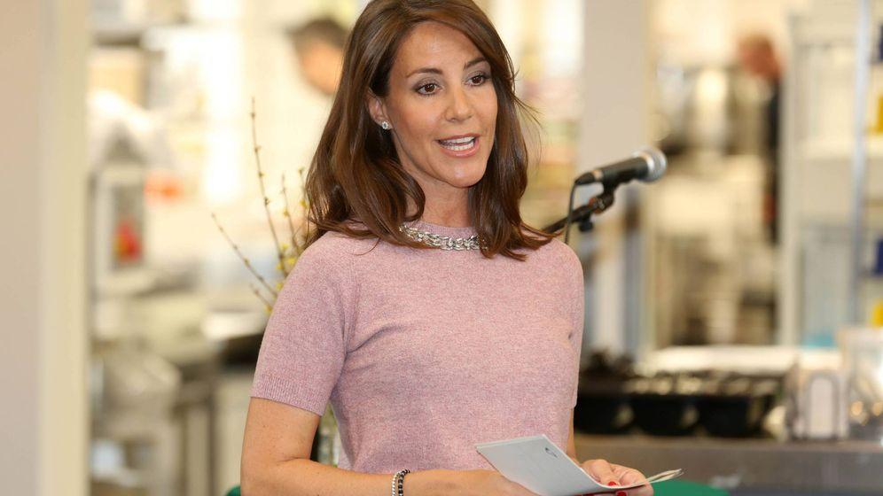 Foto: Marie de Dinamarca durante su acto. (CP)