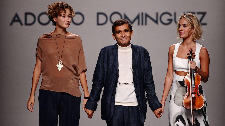 Adolfo Domínguez, en la Cibeles Fashion Week. (Getty)