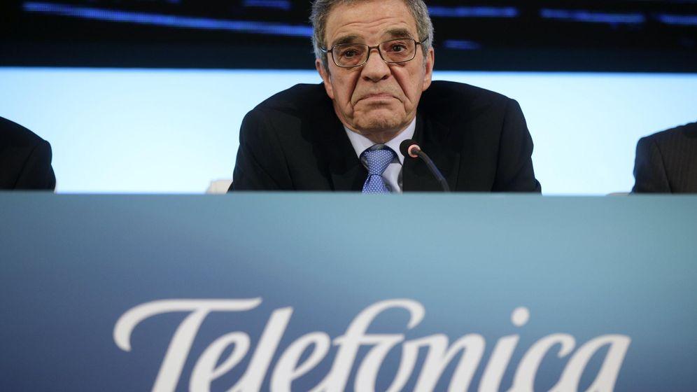 Foto: El presidente de Telefónica, César Alierta (Reuters)