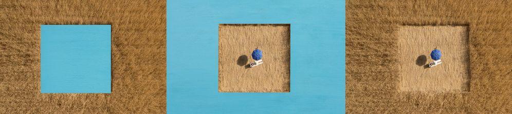 Foto: 'La República #3', dentro de la serie 'Stupid Borders' de Martín de Lucas