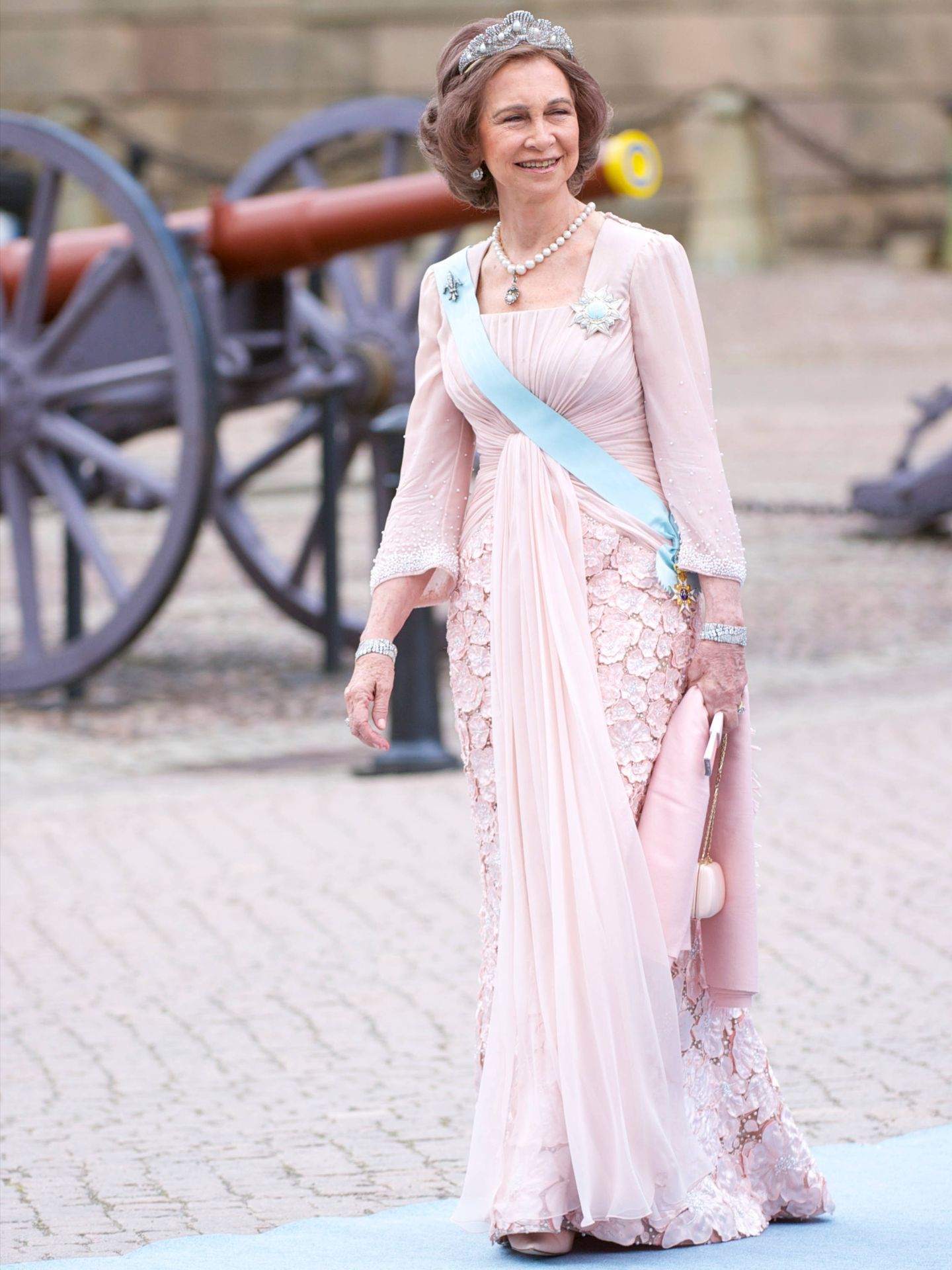 La reina Sofía. (Limited Pictures)