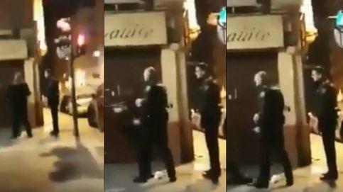 Identificado el policía que fue grabado dando un bofetón a una mujer