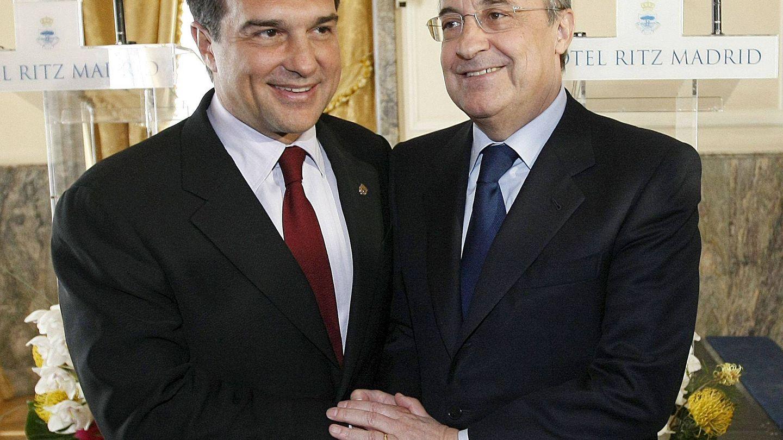 Laporta y Florentino. (Efe)