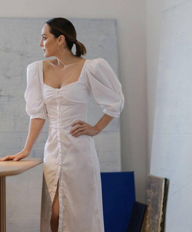 Foto: Tamara Falcó, vestida de su marca. (Cortesía)