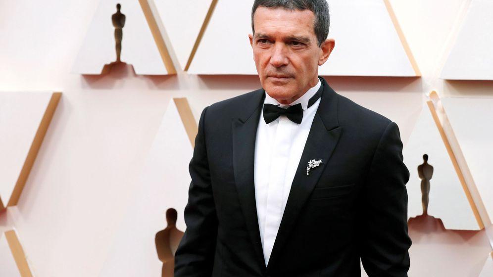 Foto: Antonio Banderas a su llegada a los Oscar. (Efe)