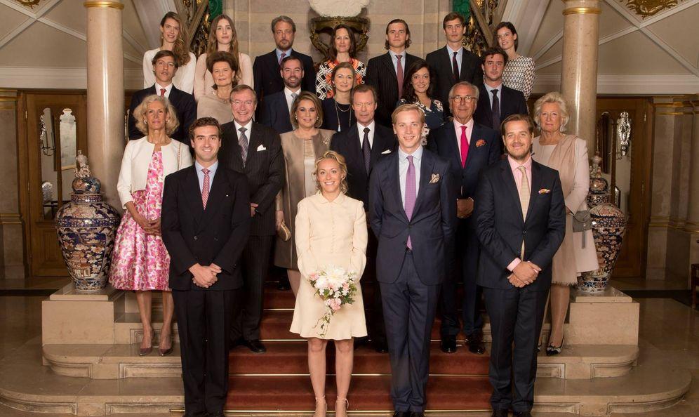 Foto: La boda civil de Marie-Gabriella de Nassau y Tono Willms. (Corte Gran Ducal)