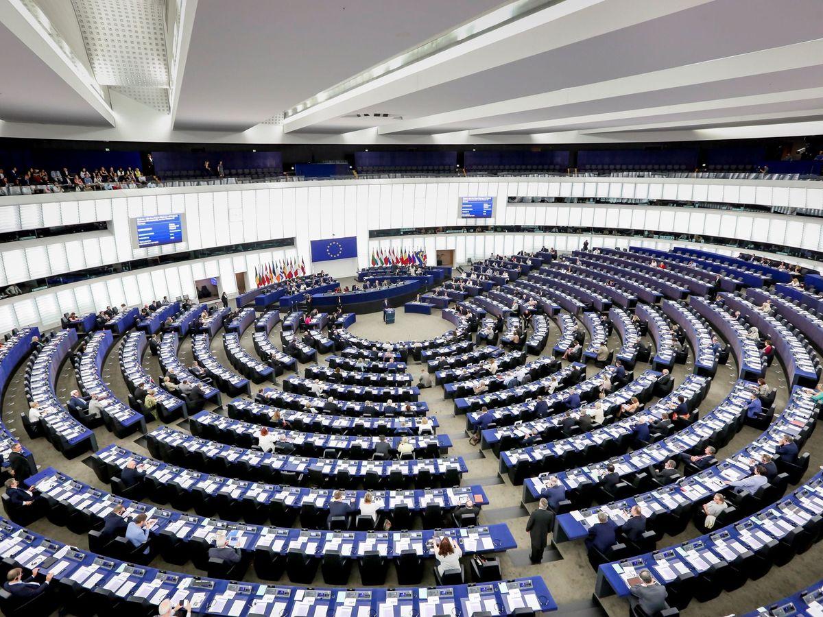 Foto: Eurocámara en Estrasburgo. (EFE)