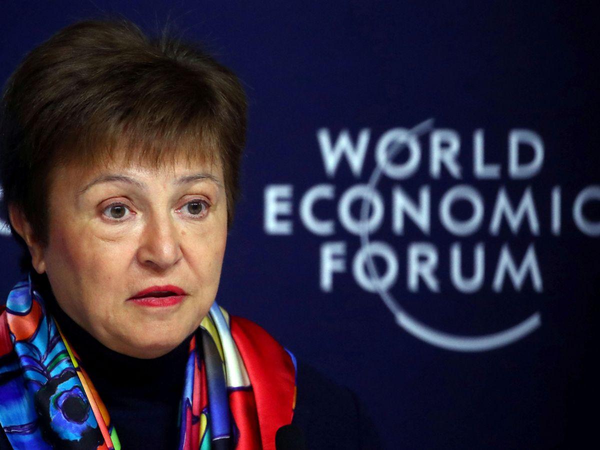 Foto: La directora gerente del FMI, Kristalina Georgieva, en una imagen de archivo. (EFE)