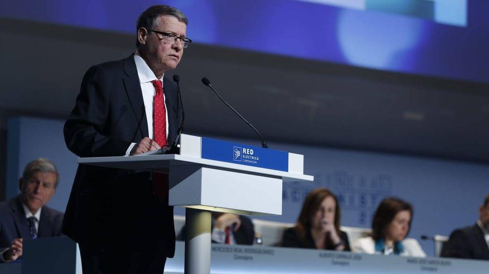 Foto: El presidente de REE, Jordi Sevilla. (REE)