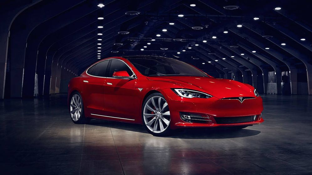 Foto: El Tesla Model S, que ahora se actualiza con un nuevo modelo, el S P100D. (Imagen: Tesla)