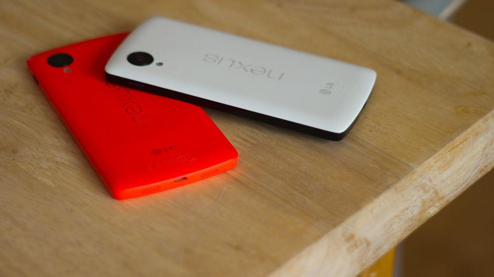 Foto: Móviles Google Nexus 5 (Foto: vagueonthehow/Flickr)