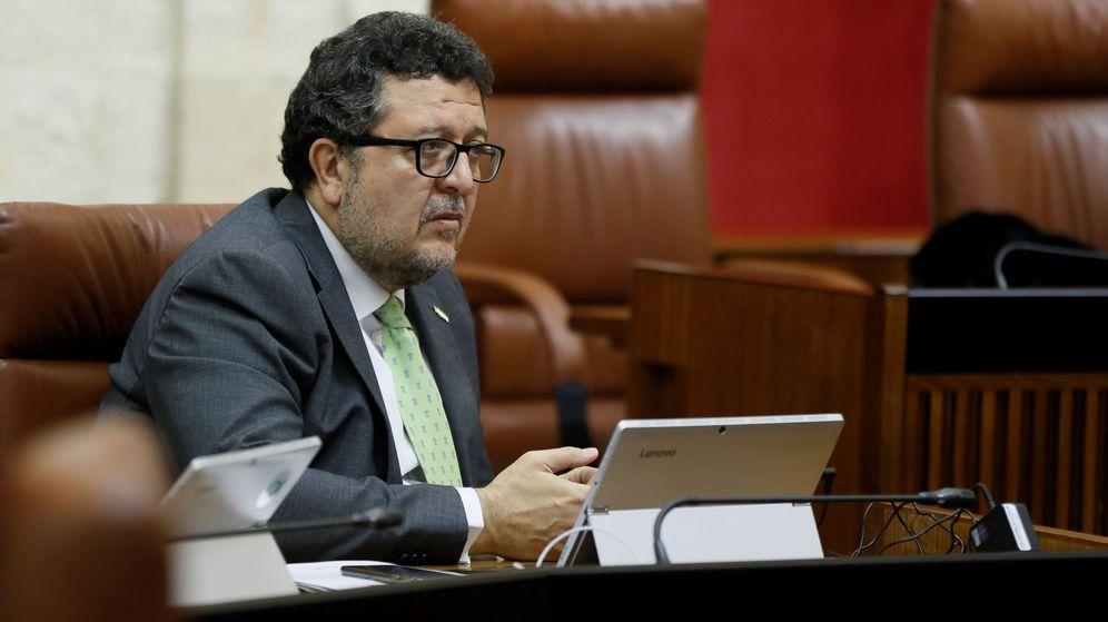 Foto: El exlíder andaluz de Vox Francisco Serrano. (EFE)