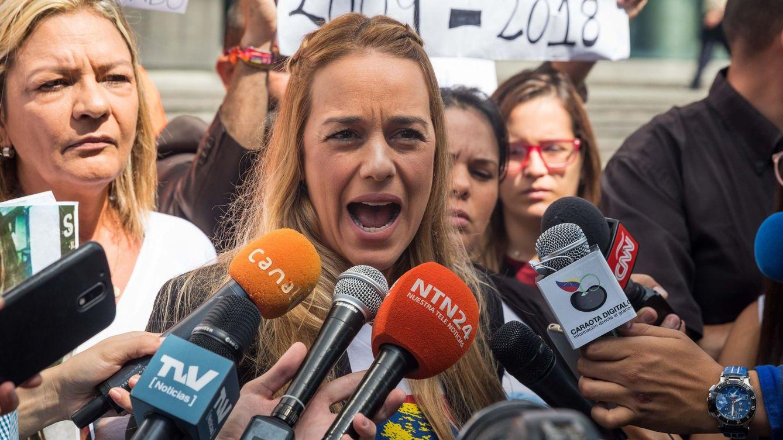 El Gobierno confirma la entrada de Lilian Tintori y su hija menor en España