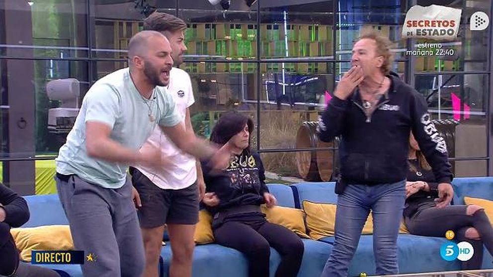 Antonio Tejado y Fortu se encaran en 'GH Dúo': ¡Pégame, pégame!
