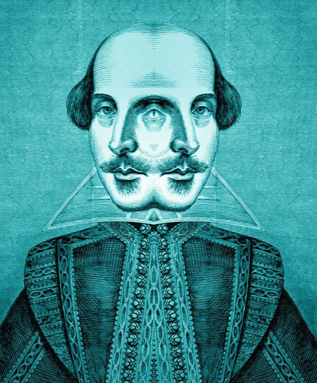 Foto: William Shakespeare (Ilustración: Enrique Villarino)