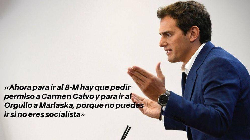 Foto: Albert Rivera en una intervención ante el Pleno. (Efe)