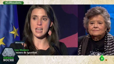 Cristina Almeida atiza a Irene Montero por sus lágrimas: Está resentida