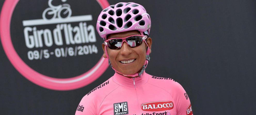 Foto: Nairo Quintana defendió sin problemas su 'maglia' rosa.