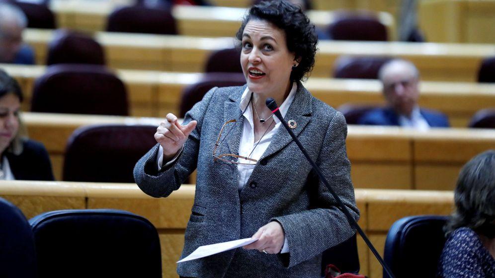 Foto: La ministra de Trabajo, Magdalena Valerio (Efe)