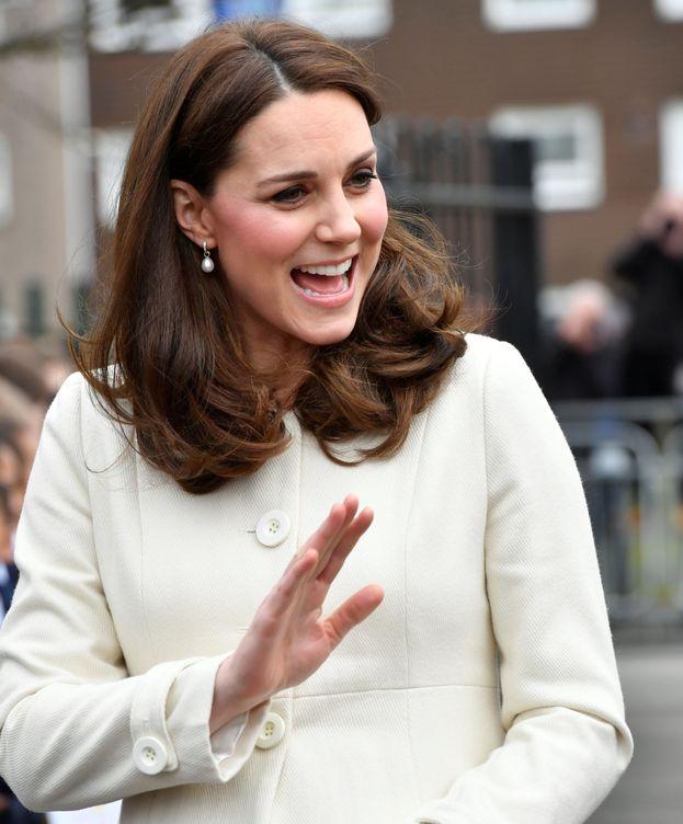 Foto: La duquesa de Cambridge en su acto en Oxford. (Reuters)