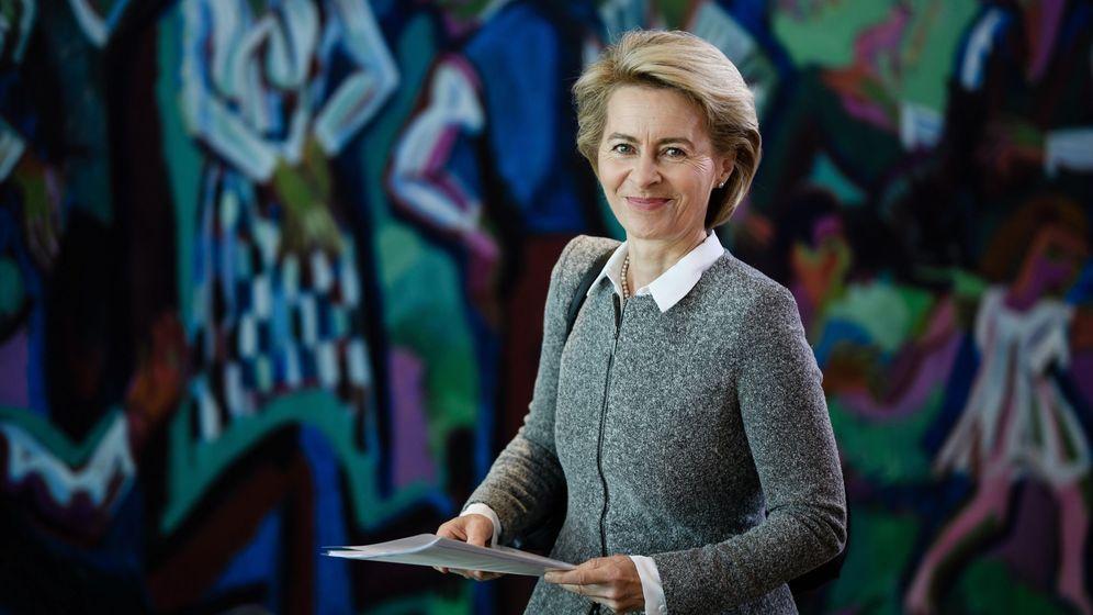 Foto: Presidenta de la comisión europea Ursula Von der Leyen (EFE)