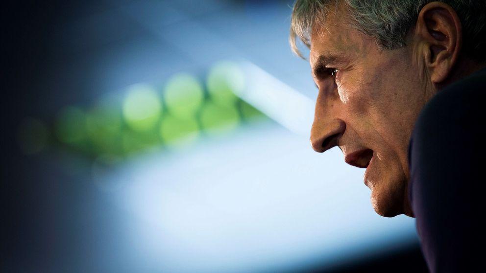 El engaño de Quique Setién a Eder Sarabia que no cuela en el vestuario del FC Barcelona