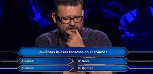 Post de ¿Acertarías la pregunta con la que Alberto perdió 30.000e en 'Millonario'?